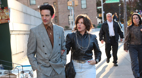 Vincent Piazza and Patricia Arquette in The Wannabe